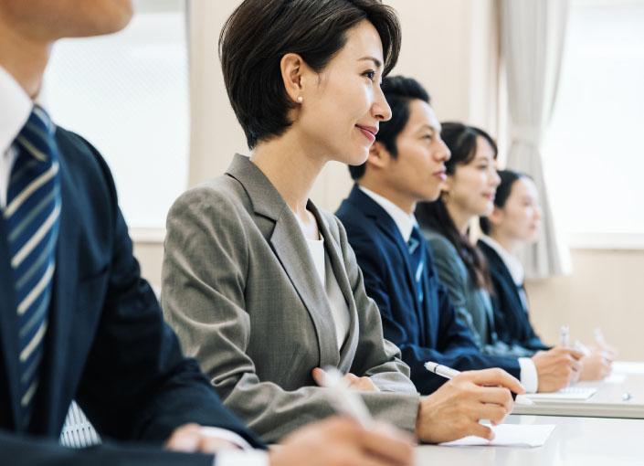 弊社の教育研修の特徴